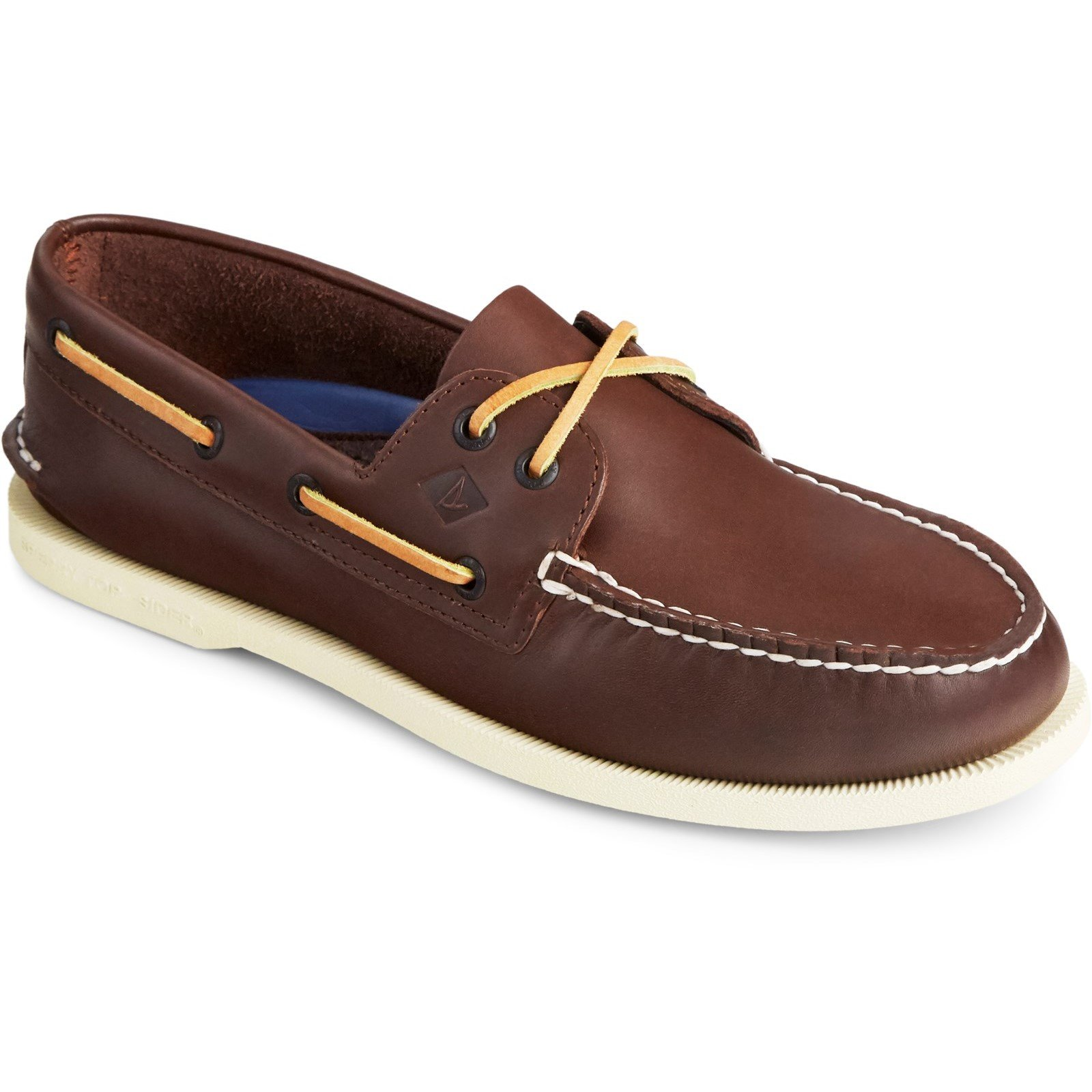 Sperry Men's Authentic Original Leather Boat Shoe Various Colours 31524 - Brown 8