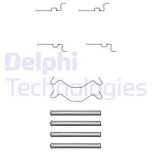 Tarvikesarja, jarrupala DELPHI LX0435
