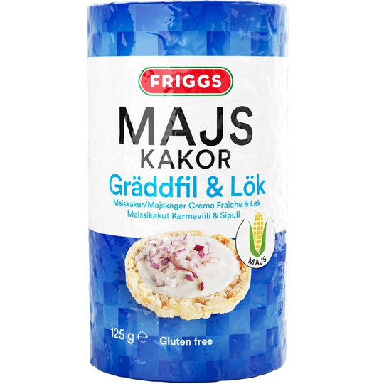 Majskakor Gräddfil & Lök - 14% rabatt