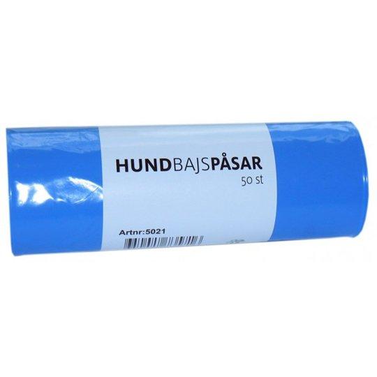 Lupus Bajspåse 50/Rulle (Ljusblå)