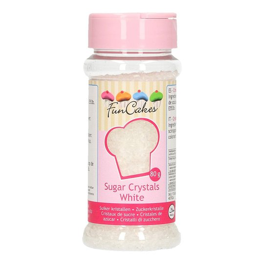 FunCakes Strössel White/Vit - 80 g