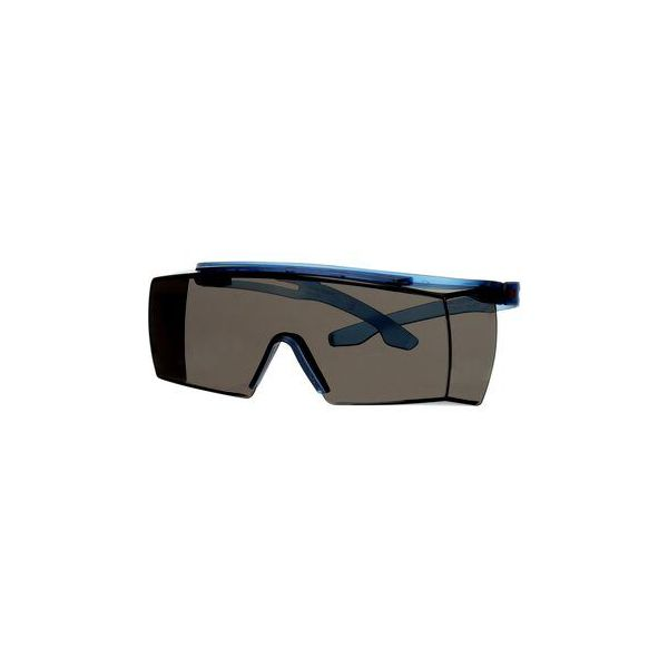 3M Secure fit 3700 Vernebriller Blå brillestang, grå linse