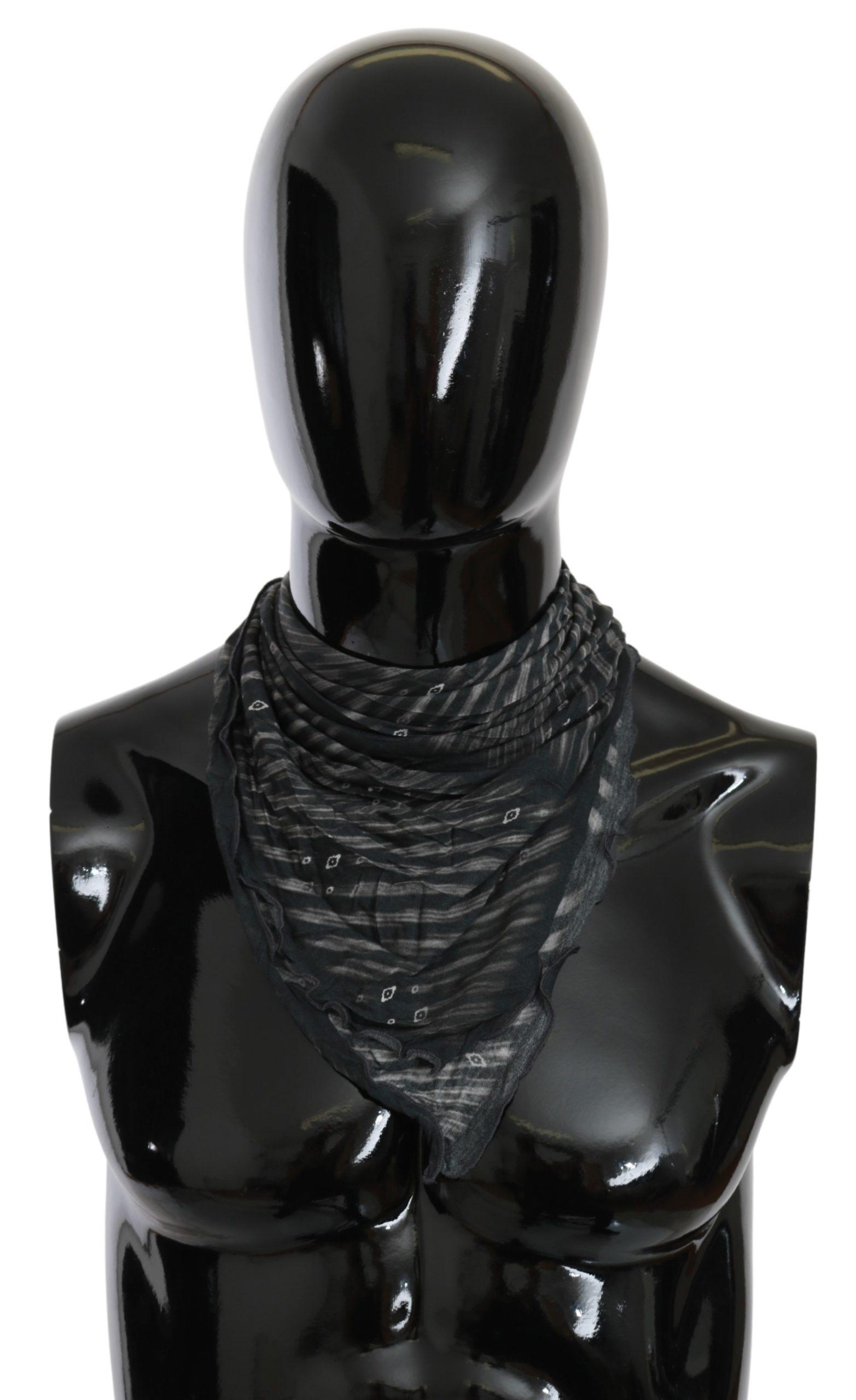 Costume National Women's Viscose Foulard Branded Scarf MS1639