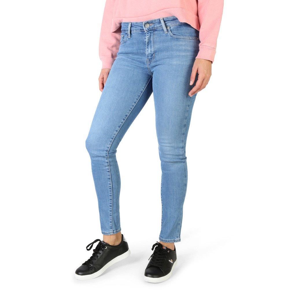 Levis Women's Jeans Blue 711-SKINNY - blue 26