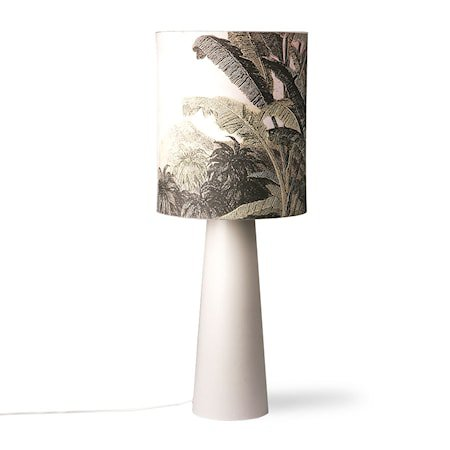Lampeskjerm Linen Jungle L