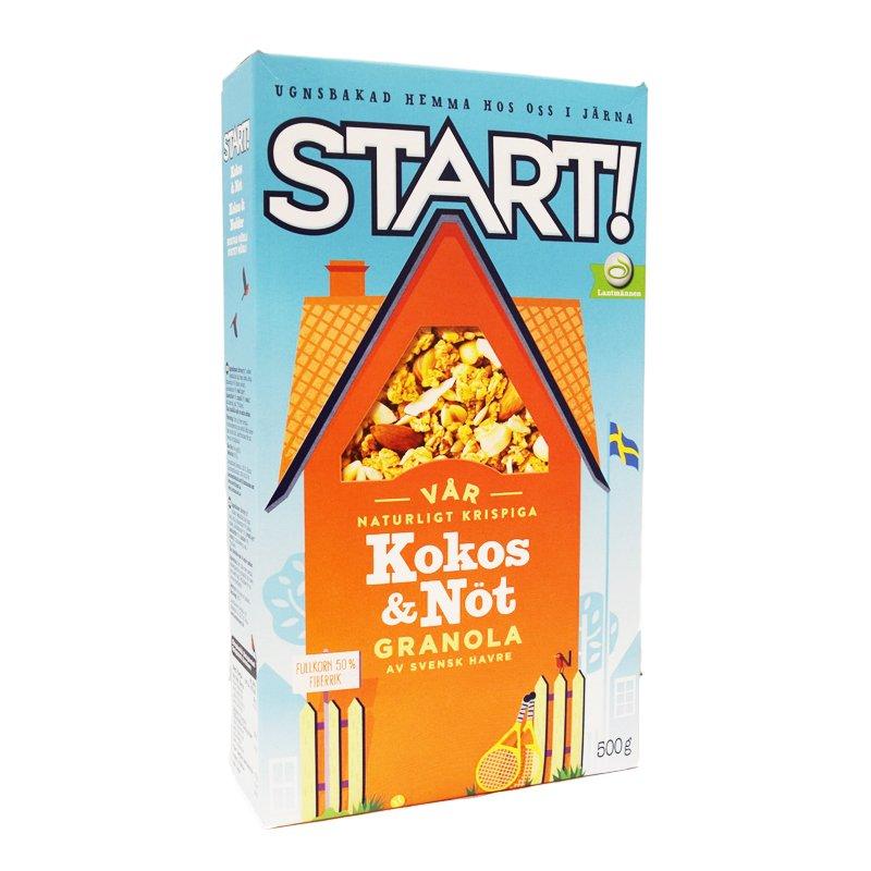 Granola Kookos & Pähkinä 500g - 38% alennus