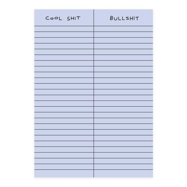 Cool Shit A5 Notepad