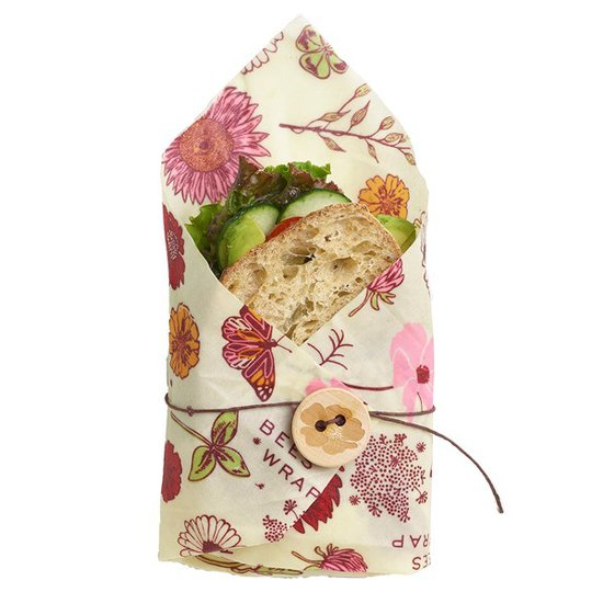 Bee's Wrap Veganskt Folie Sandwich Wrap - Meadow Magic
