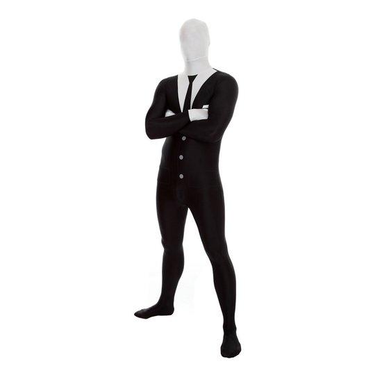 Morphsuit Slenderman Maskeraddräkt - Large