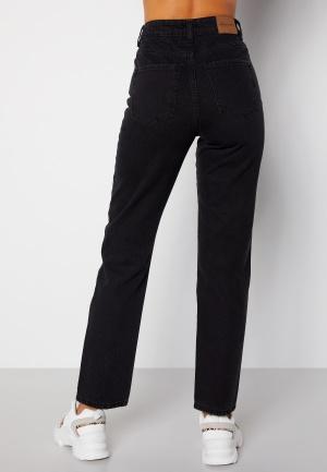 Happy Holly Natalie straight leg jeans Black denim 36
