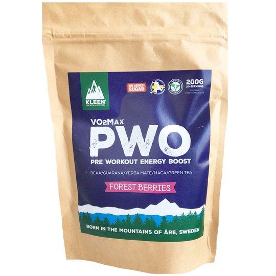 """Kosttillskott """"PWO Forest Berries"""" 200g - 35% rabatt"""