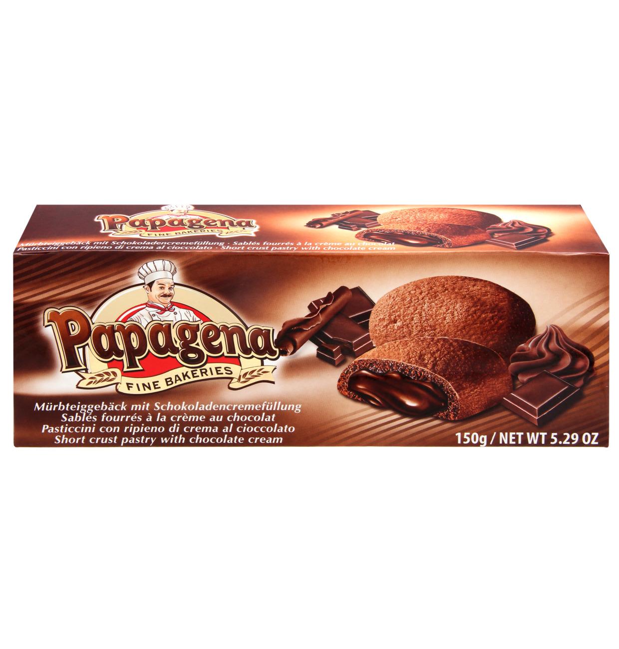 Papagena Kakor med chokladfyllning 150g