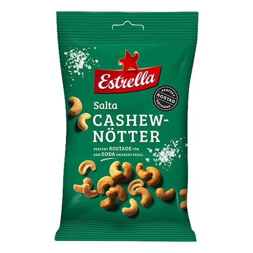Estrella Salta Cashewnötter - 150 gram