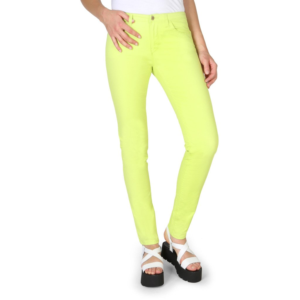 Armani Jeans Women's Trousers Green 3Y5J28 5NZXZ - green 27 EU
