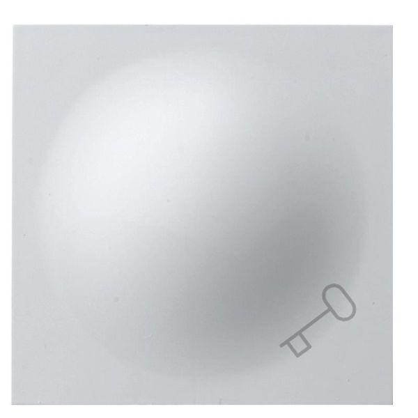 Elko Plus Vippearm hvit Med nøkkelsymbol