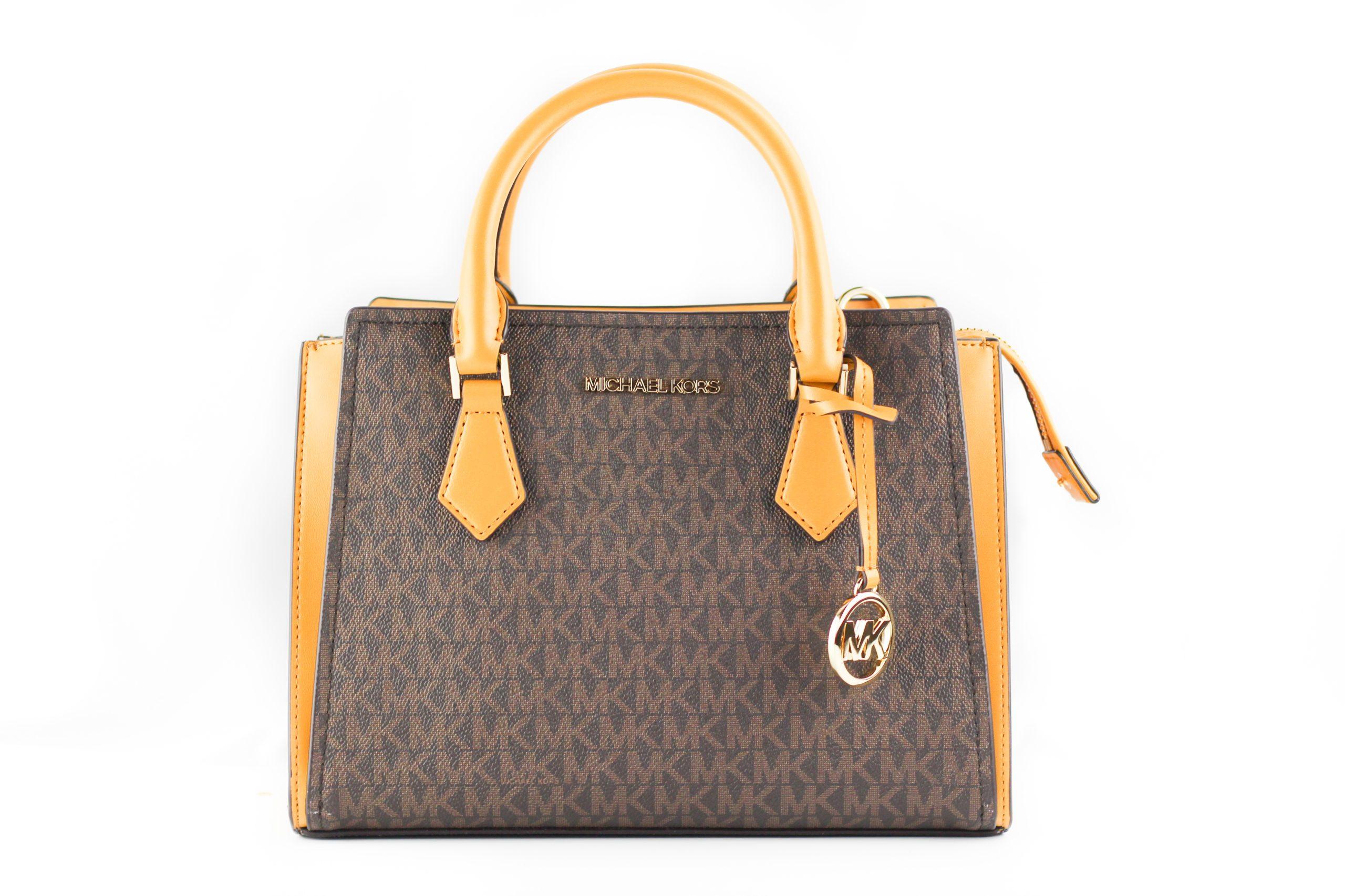 Michael Kors Women's Hope Crossbody Bag Brown 79959