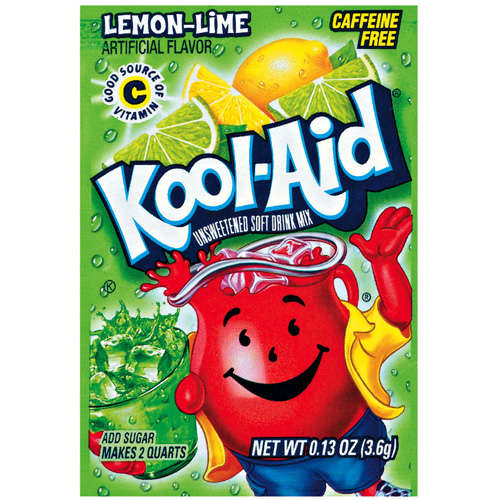 Kool-Aid Soft Drink Mix - Lemon Lime