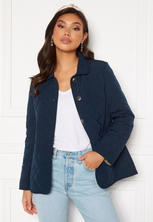 GANT Quilted Mid Length Jacket 410 Marine S