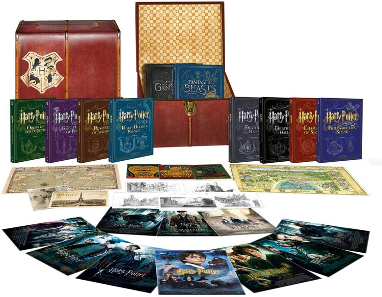 Wizarding World 10 Film Collection- UK Import