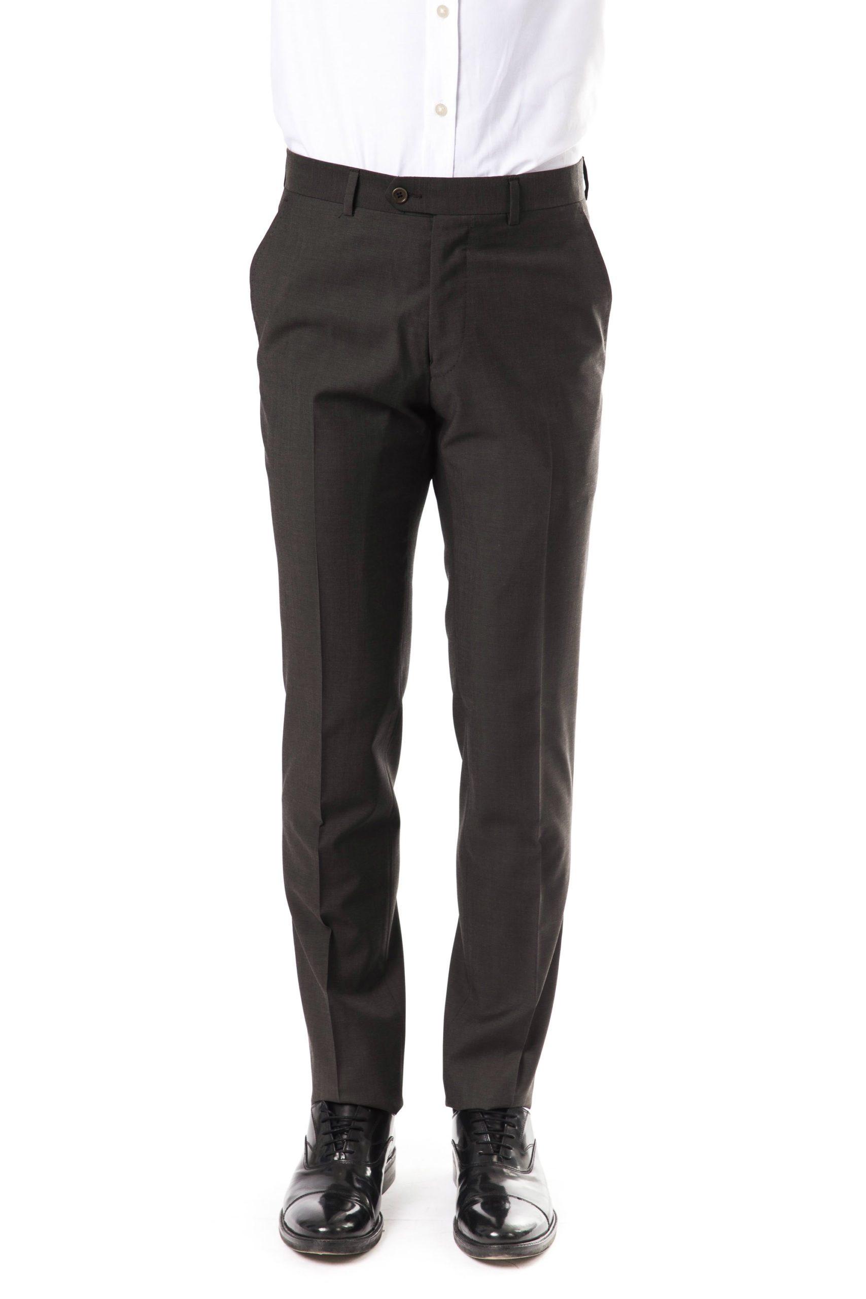 Uominitaliani Men's Trouser Gray UO1394732 - IT52 | L