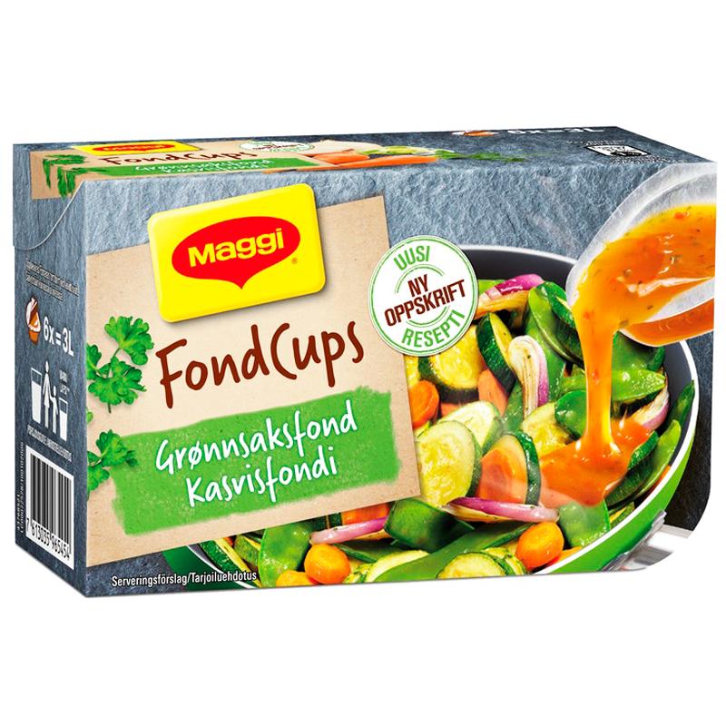 Grönsaksfond 6 x 24g - 37% rabatt
