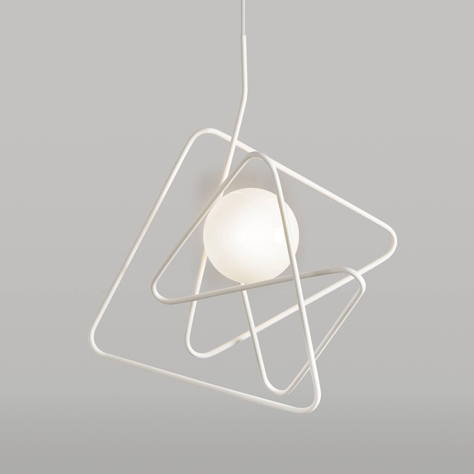 Tyylikäs design-kattovalaisin Inciucio, valkoinen