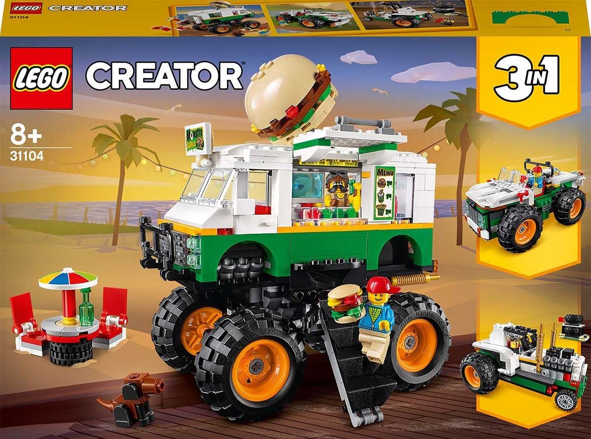 LEGO Creator 3-in-1 31104 Purilaismonsteriauto