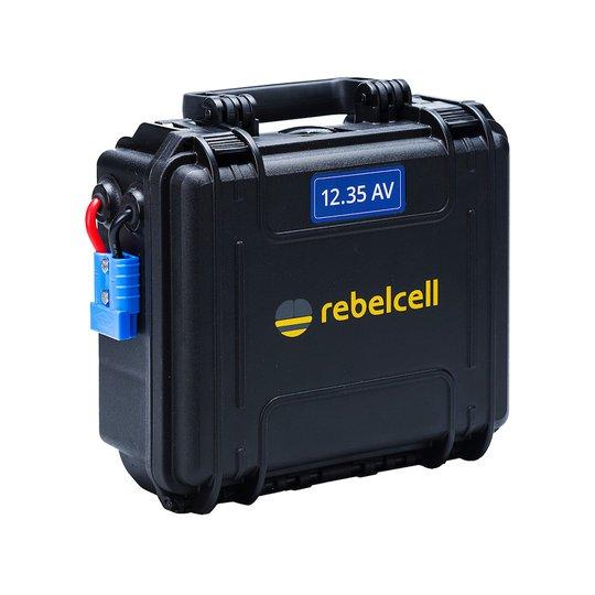 Rebelcell 12V 35 Ah Outdoorbox litiumbatteri