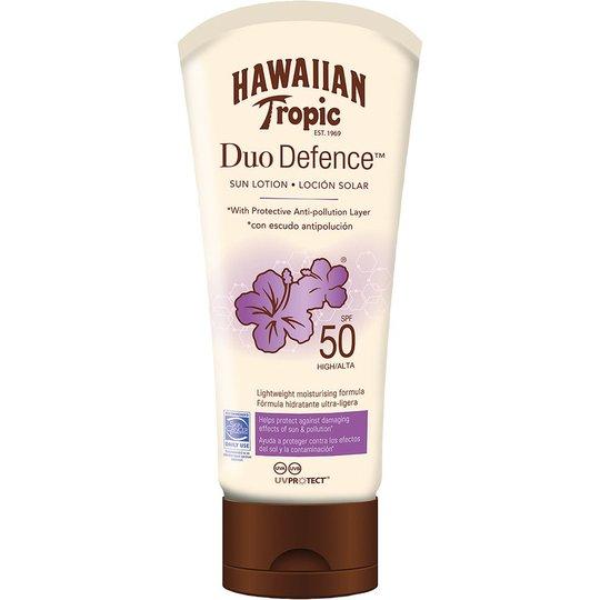 Hawaiian Tropic DueDefence Sun Lotion SPF50, 180 ml Hawaiian Tropic Aurinkosuojat