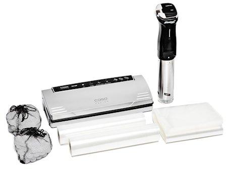 Sous Vide-Pakke med Cirkulator, Vakuumforpakker og Tilbehør