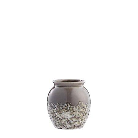 Vase Clary 15,5cm Mørkegrå