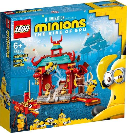 LEGO Minions 75550 Minions i Kung Fu-Kamp