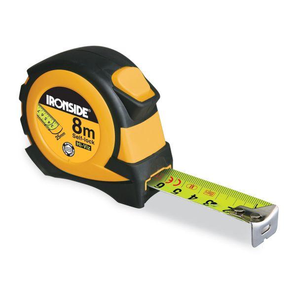 Ironside 150047 Målebånd self-lock 8 meter