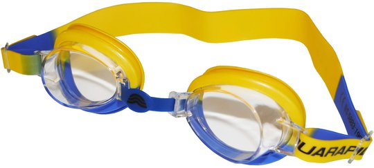 Aquarapid Sunny Svømmebriller, Gul/Blå