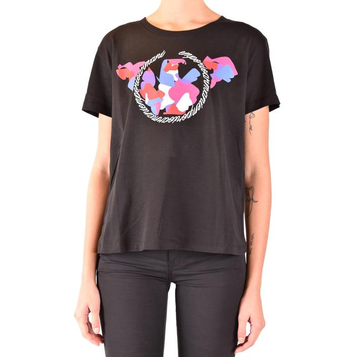 Emporio Armani Women's T-Shirt Black 184519 - black 36