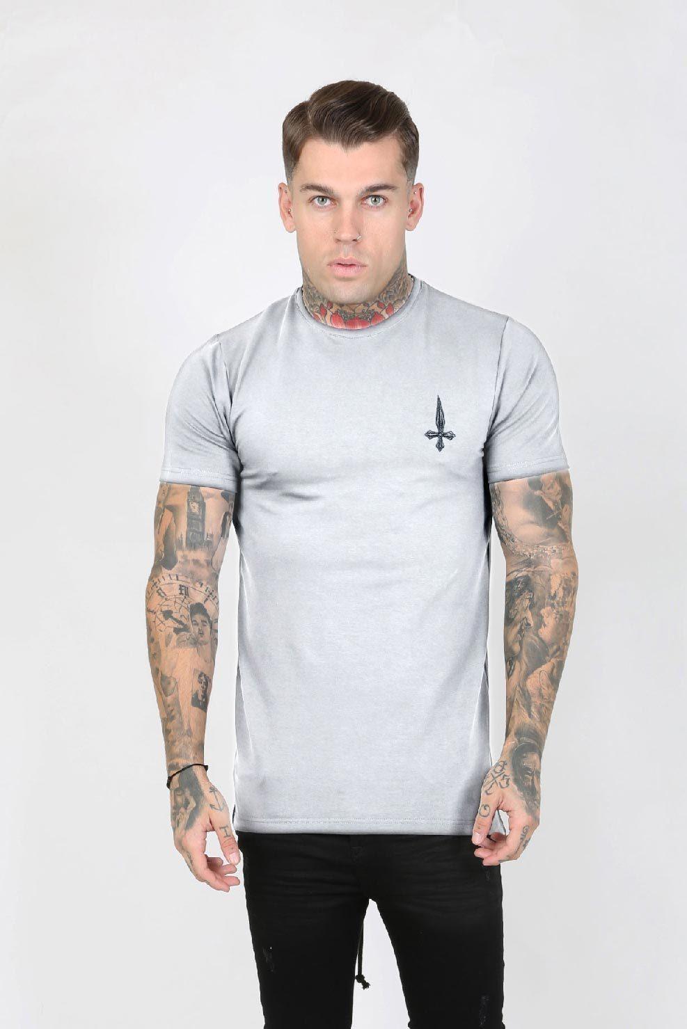 Parka Hem Men's T-Shirt - Grey, Small