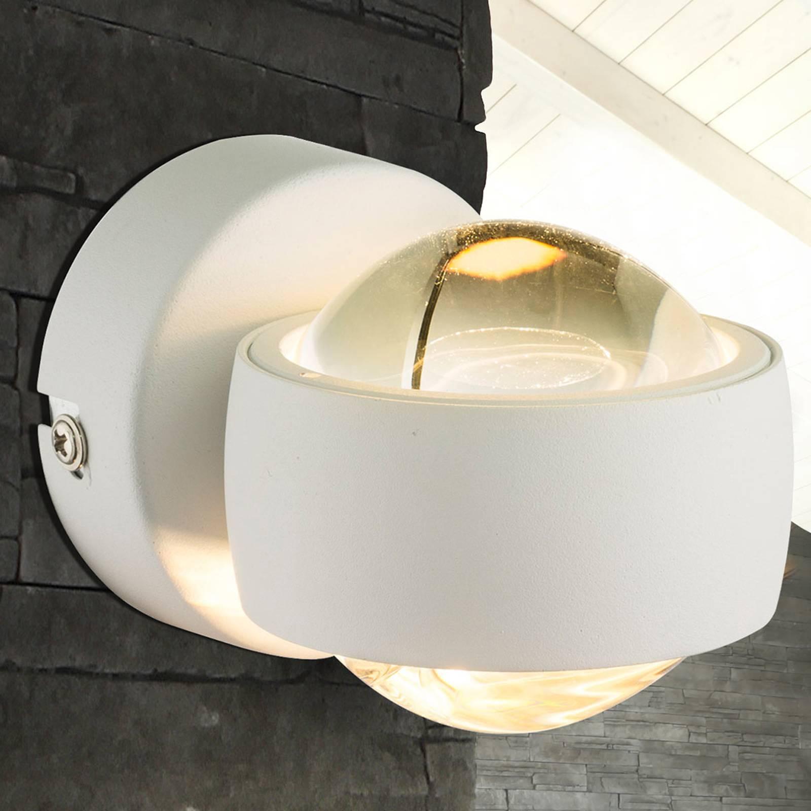 Pieni valkoinen LED-seinävalaisin Randi