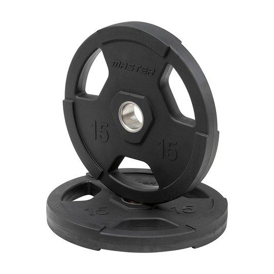 Kumipäällysteinen levypaino, 50 mm