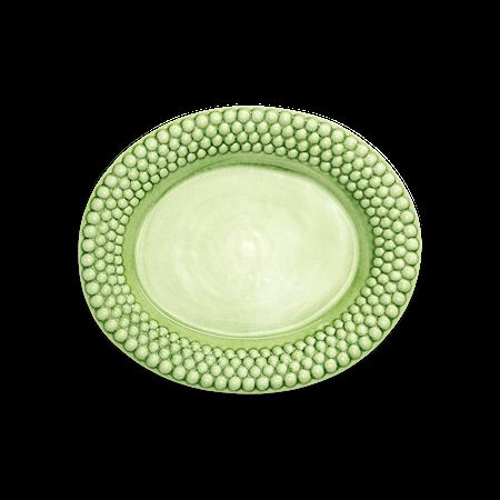 Bubbles Fat Ovalt Grönt 35 cm