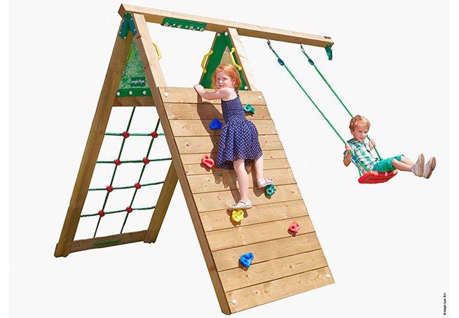 Jungle Gym Climb Modul X'tra komplett, Klätterställning