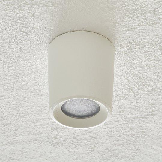 Livia-alasvalo Ø 9,6 cm CCT valkoinen/frosted