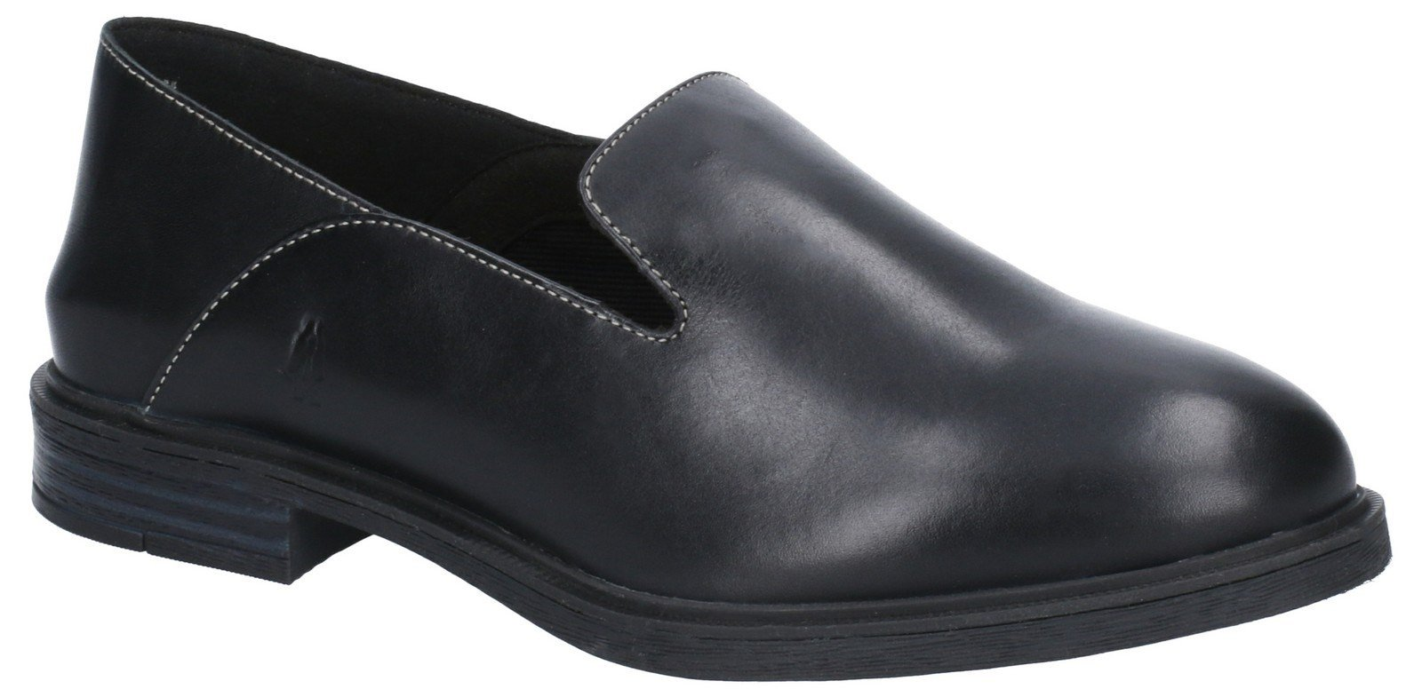 Hush Puppies Women's Bailey Bounce Slip On Flats Various Colours 29224 - Black Leather 3