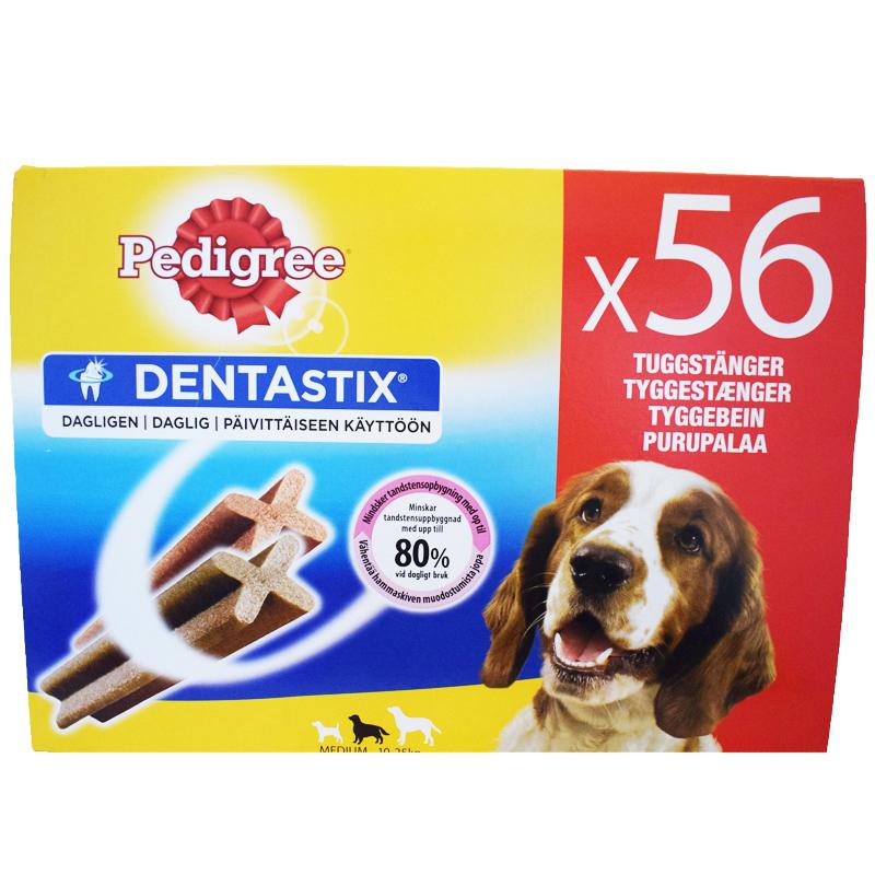 """Hundgodis """"Dentastix Medium"""" 1440g - 27% rabatt"""