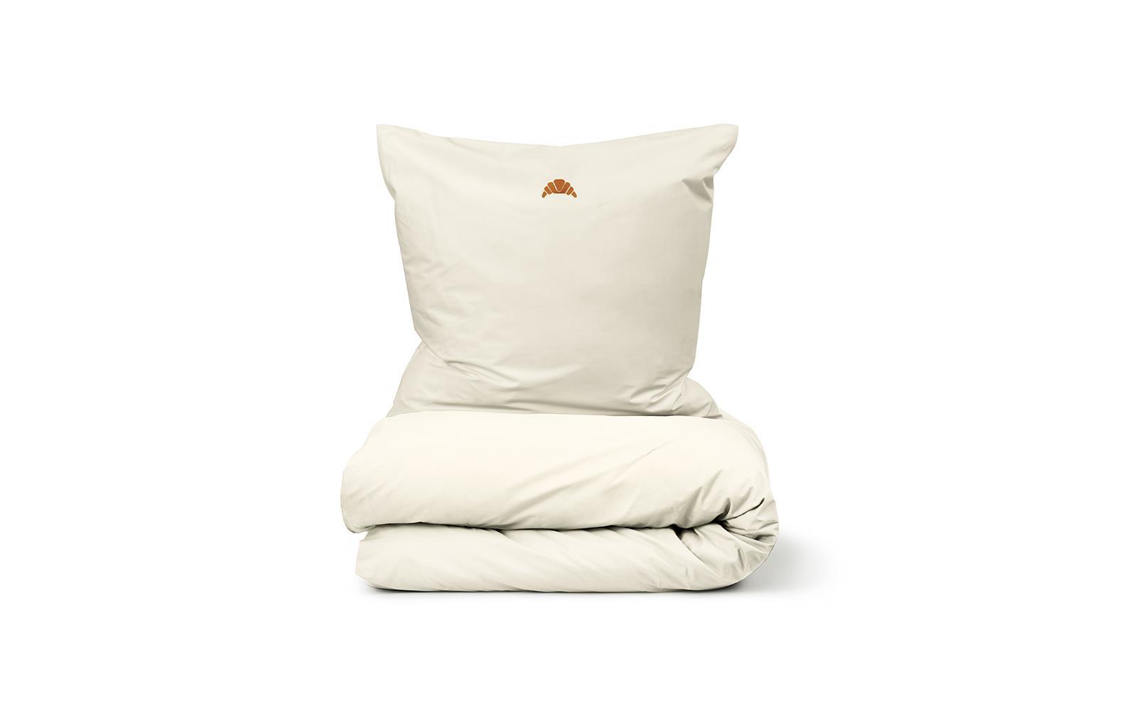 Normann Copenhagen - Snooze Bedding 140 x 200 cm - Lazy Morning Varm Grey (310501)