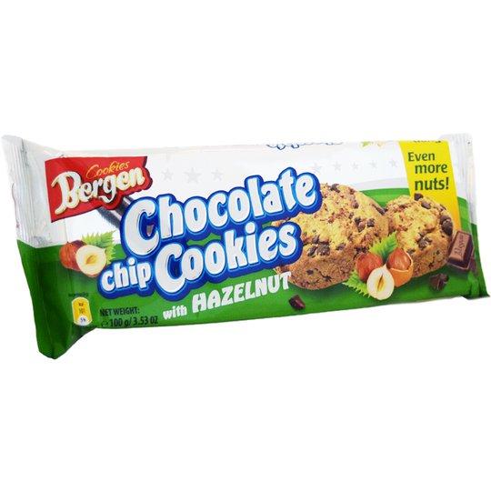 Kakor Choklad & Hasselnötter 100g - 33% rabatt