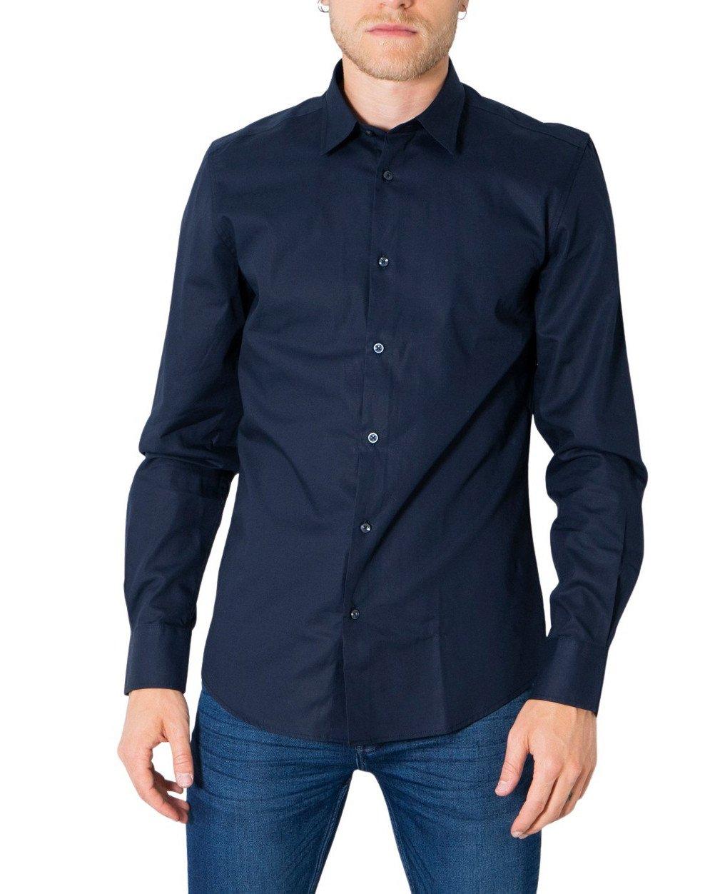 Antony Morato Men's Shirt Various Colours 308289 - blue 44