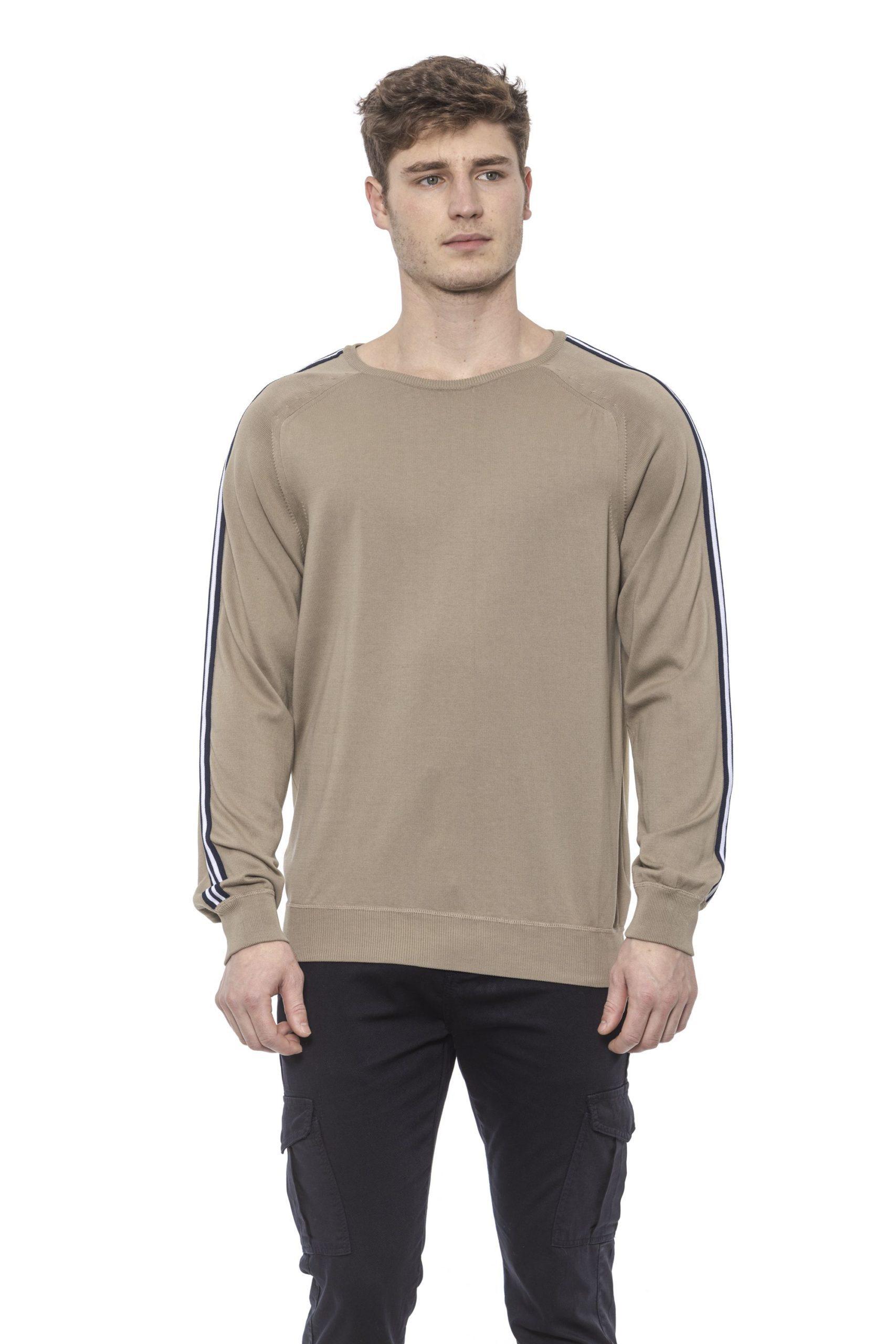 Alpha Studio Men's Corda Sweater Beige AL1374473 - IT48 | M