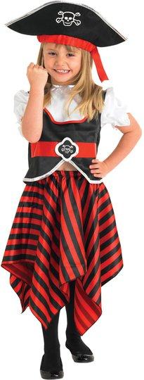 Rubie's Kostyme Sjørøverjente 7-8 år