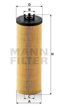 Öljynsuodatin MANN-FILTER HU 842 x