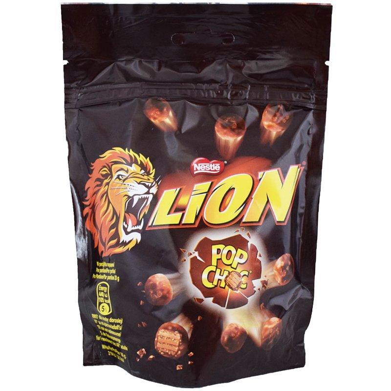"Godis ""Lion Pop Choc"" 140g - 33% rabatt"